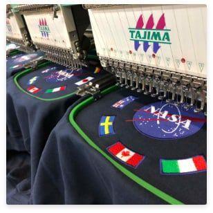 Fabricación en bordado personalizado