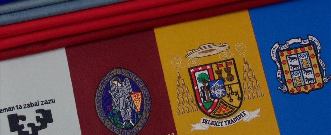 escudos bordados personalizados