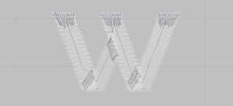 Diseño Bordado 3D Wilcom